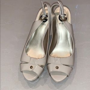 G BY Guess High Heel Tan Size 8